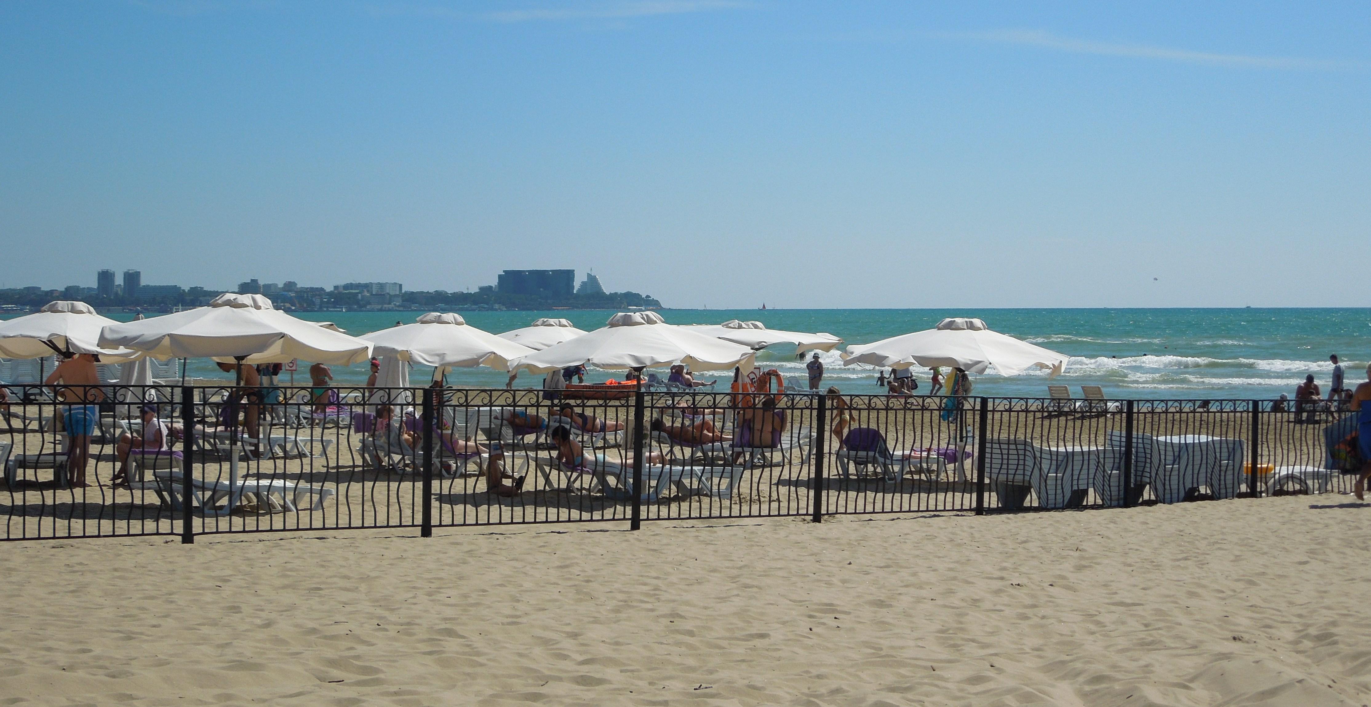 Фото пляжей в анапе на пионерском проспекте